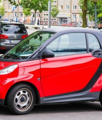 Smart mikro bybil til de korte hverdagsture i byen
